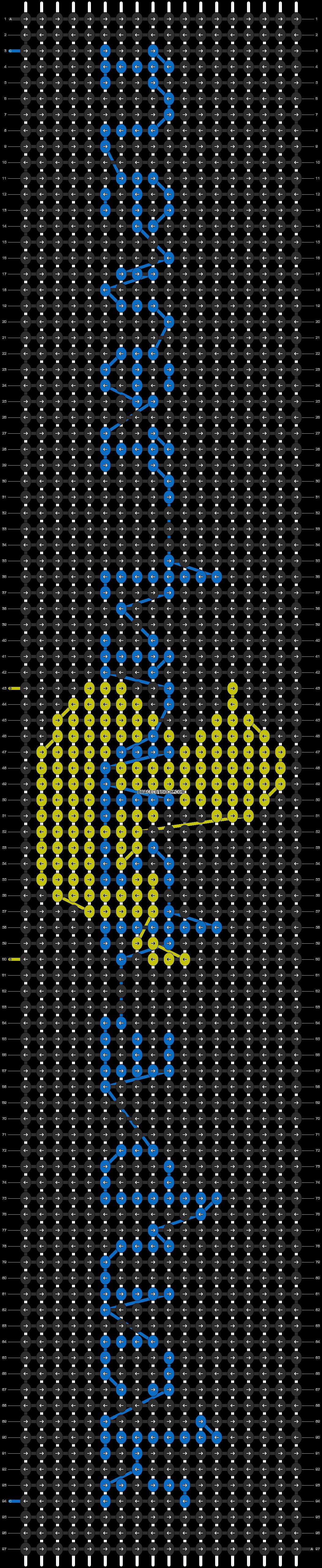Alpha pattern #13741 pattern