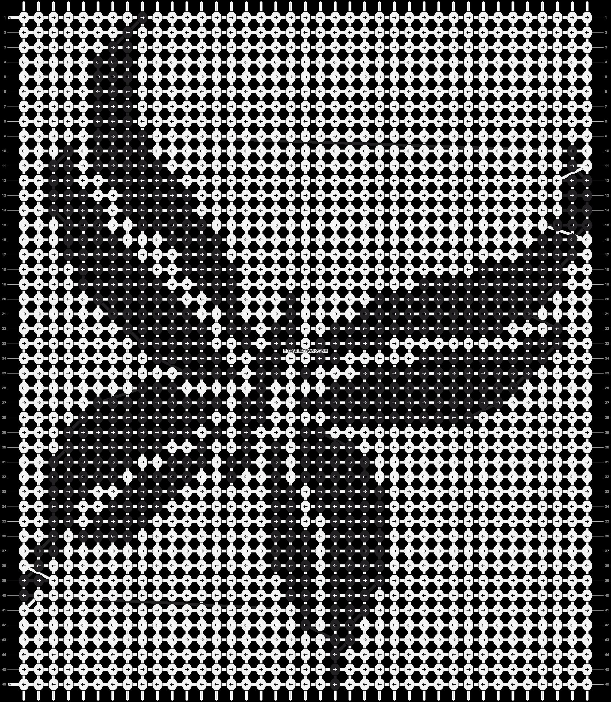 Alpha pattern #13742 pattern
