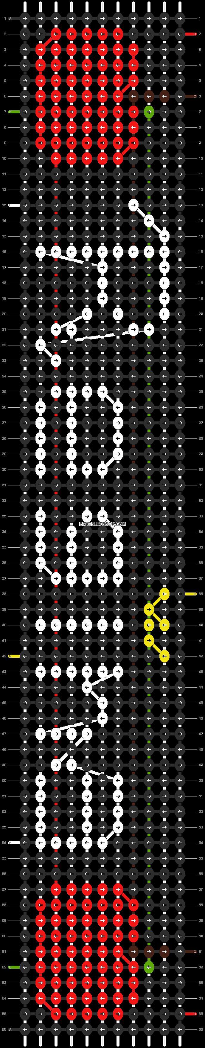 Alpha pattern #13746 pattern
