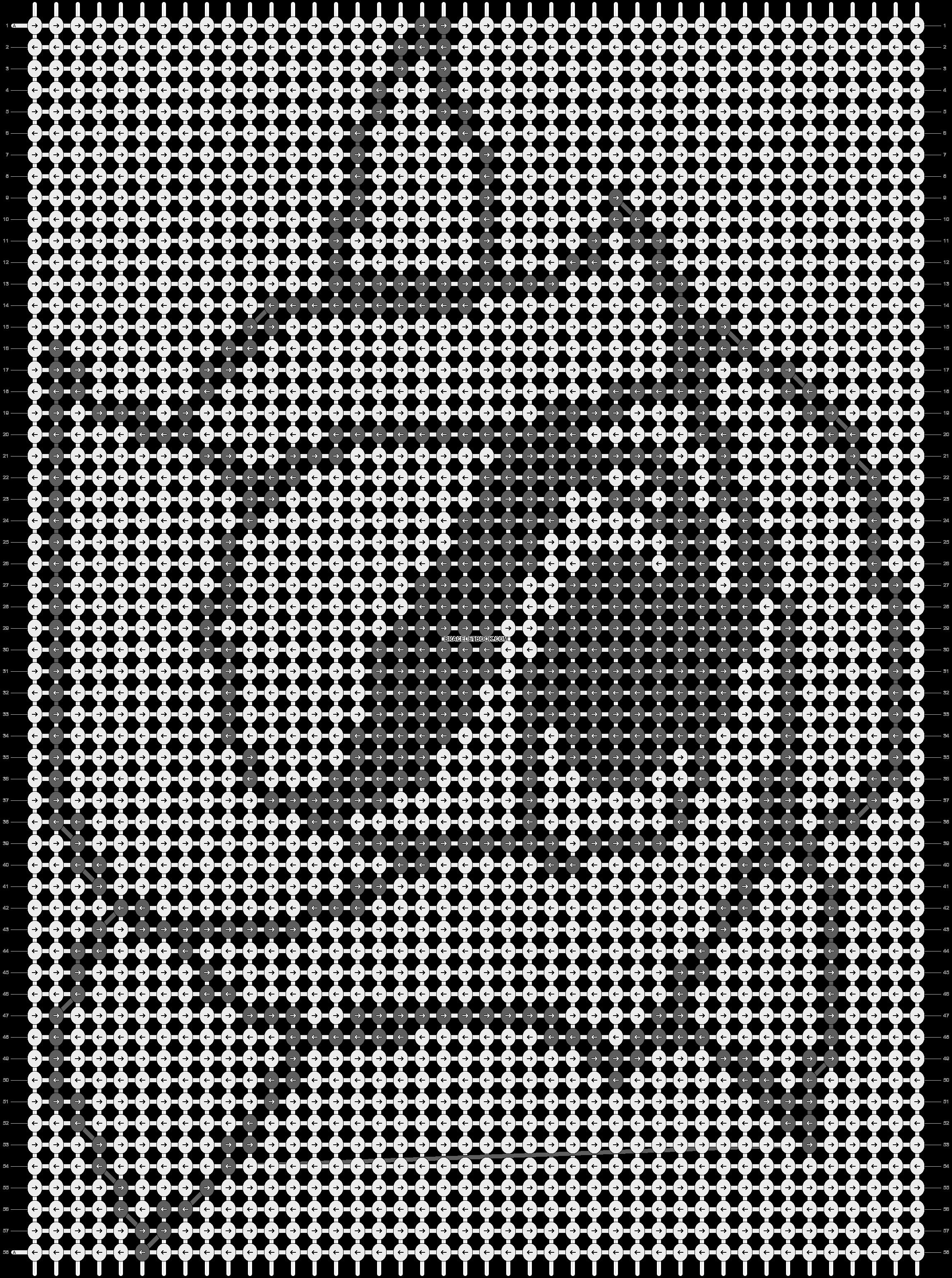 Alpha pattern #13755 pattern