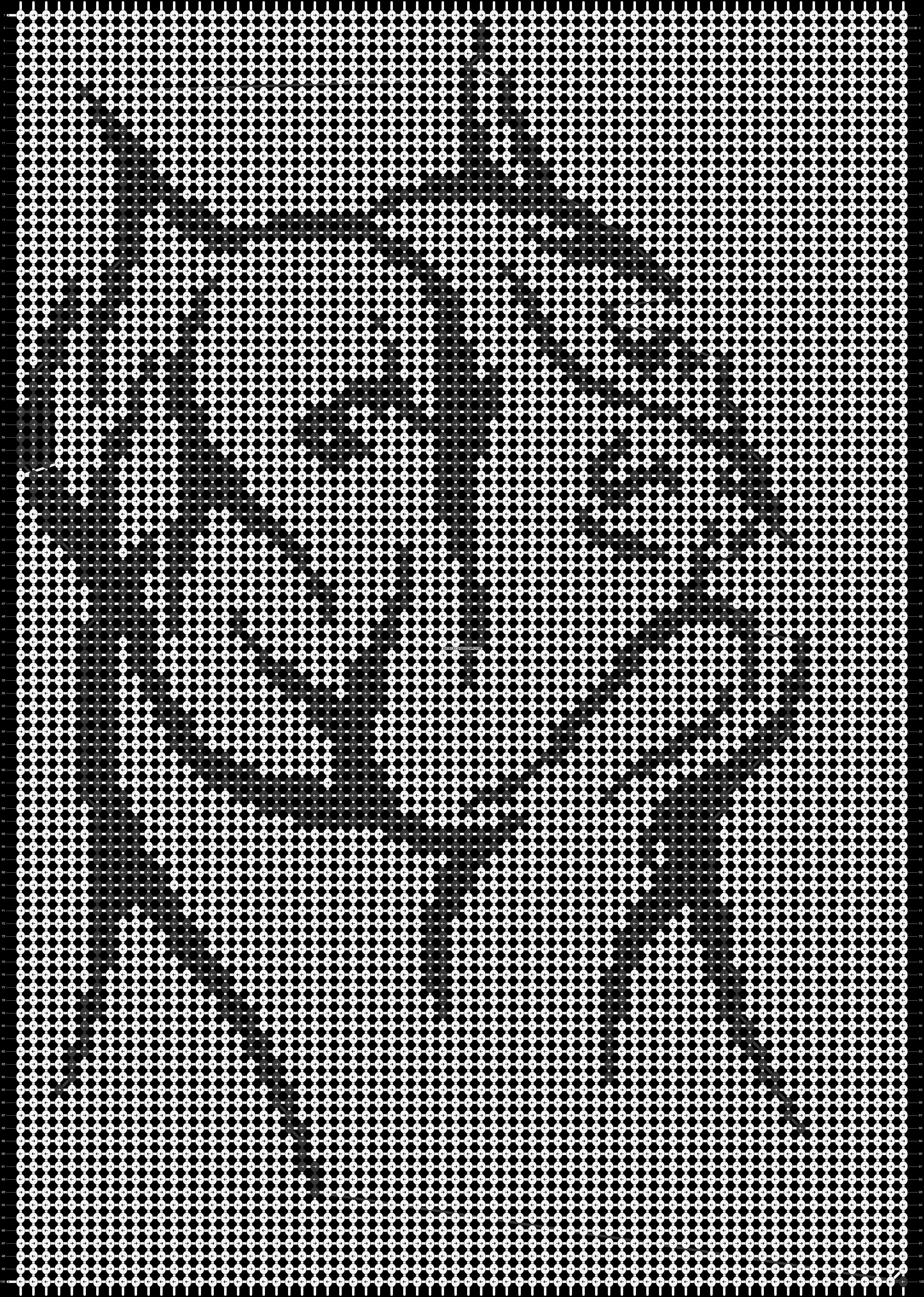 Alpha pattern #13757 pattern