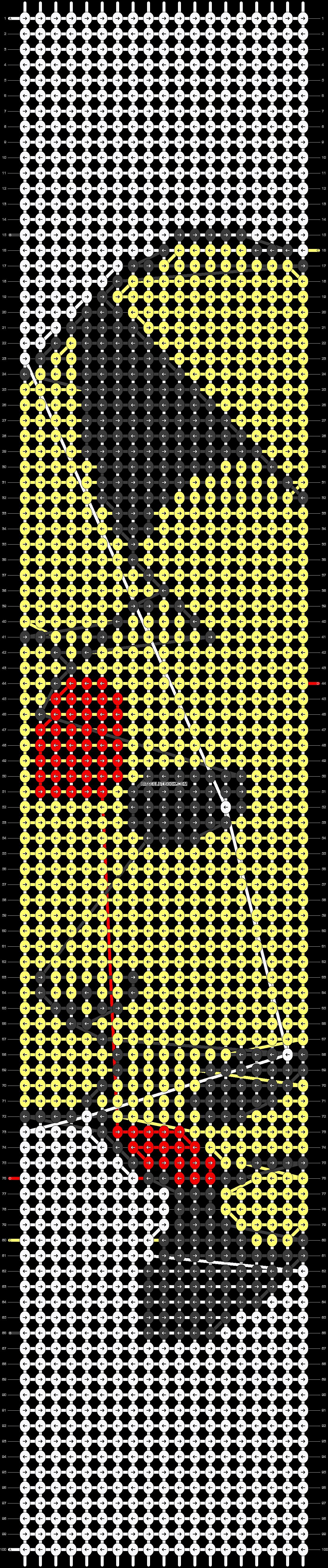 Alpha pattern #13759 pattern