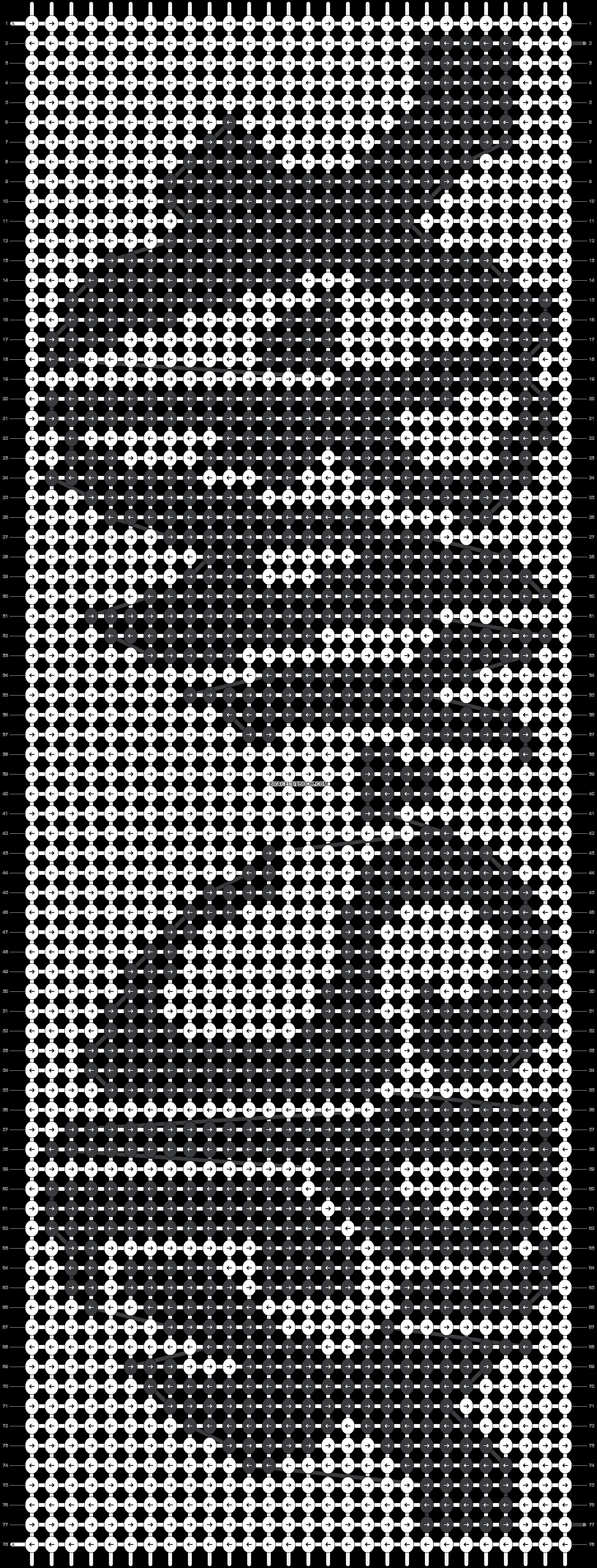 Alpha pattern #13760 pattern