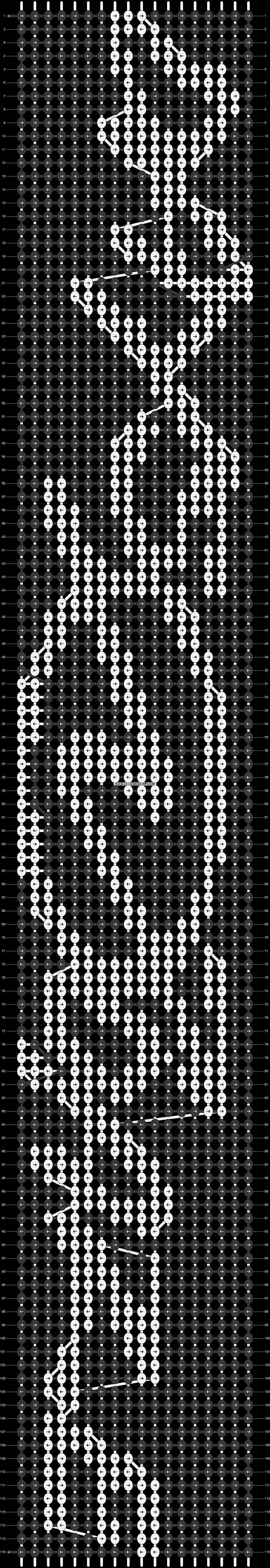 Alpha pattern #13764 pattern