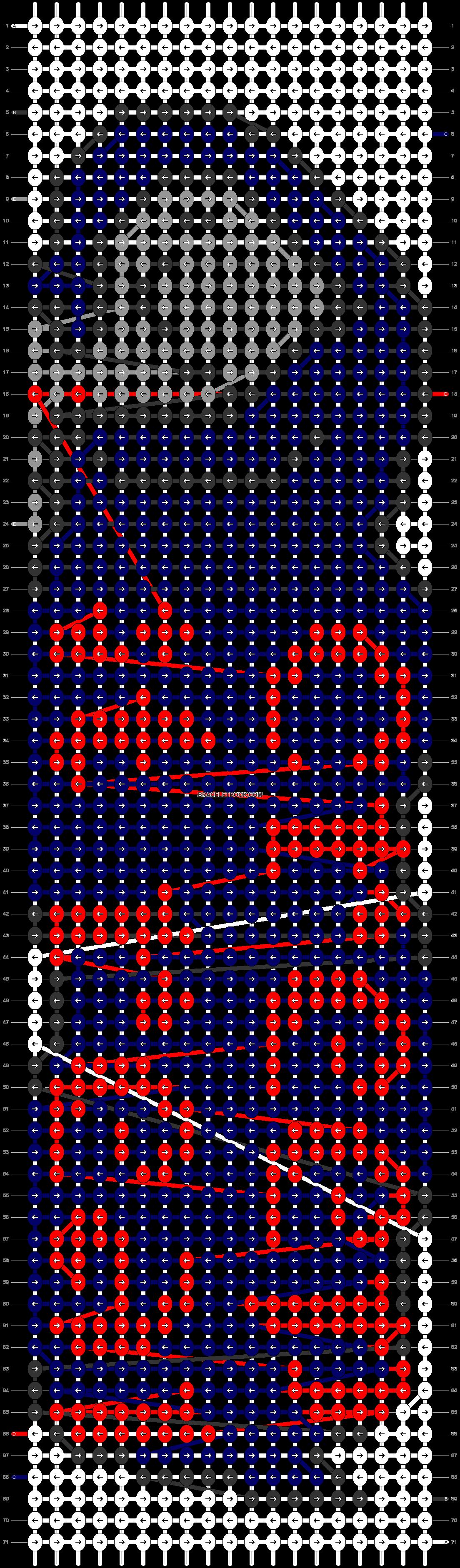 Alpha pattern #13770 pattern