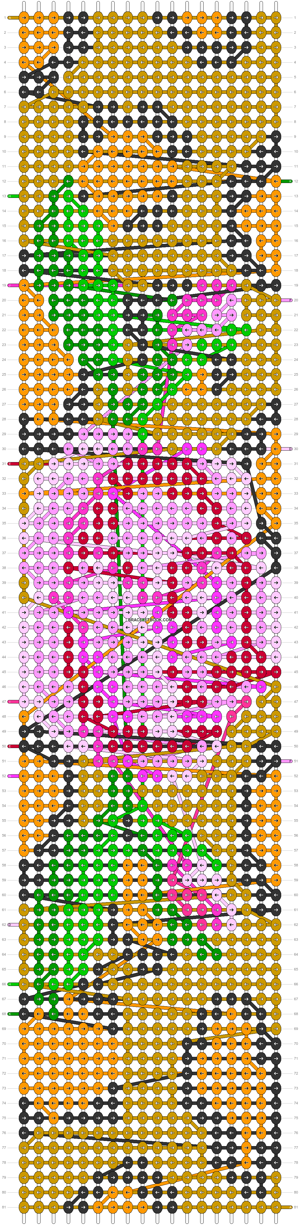 Alpha pattern #13771 pattern