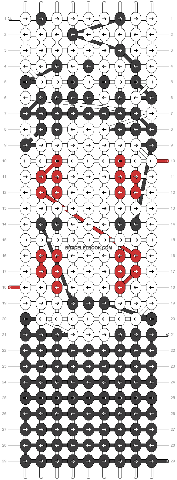 Alpha pattern #13774 pattern