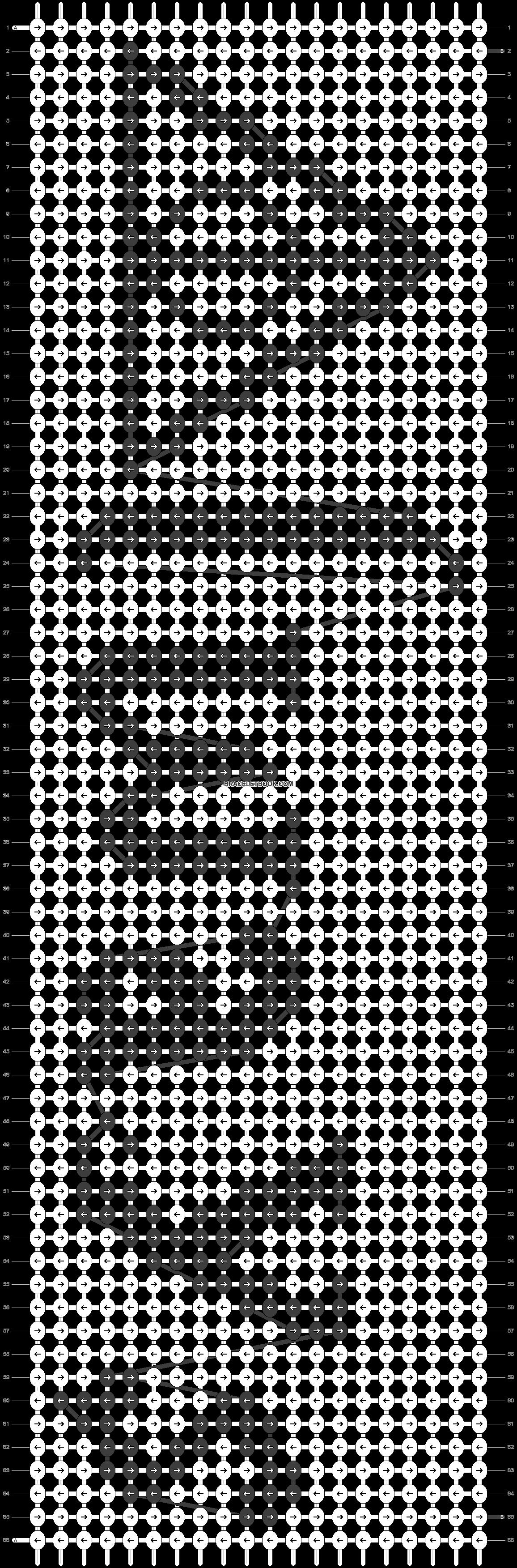 Alpha pattern #13776 pattern