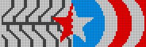 Alpha Friendship Bracelet Pattern #13777