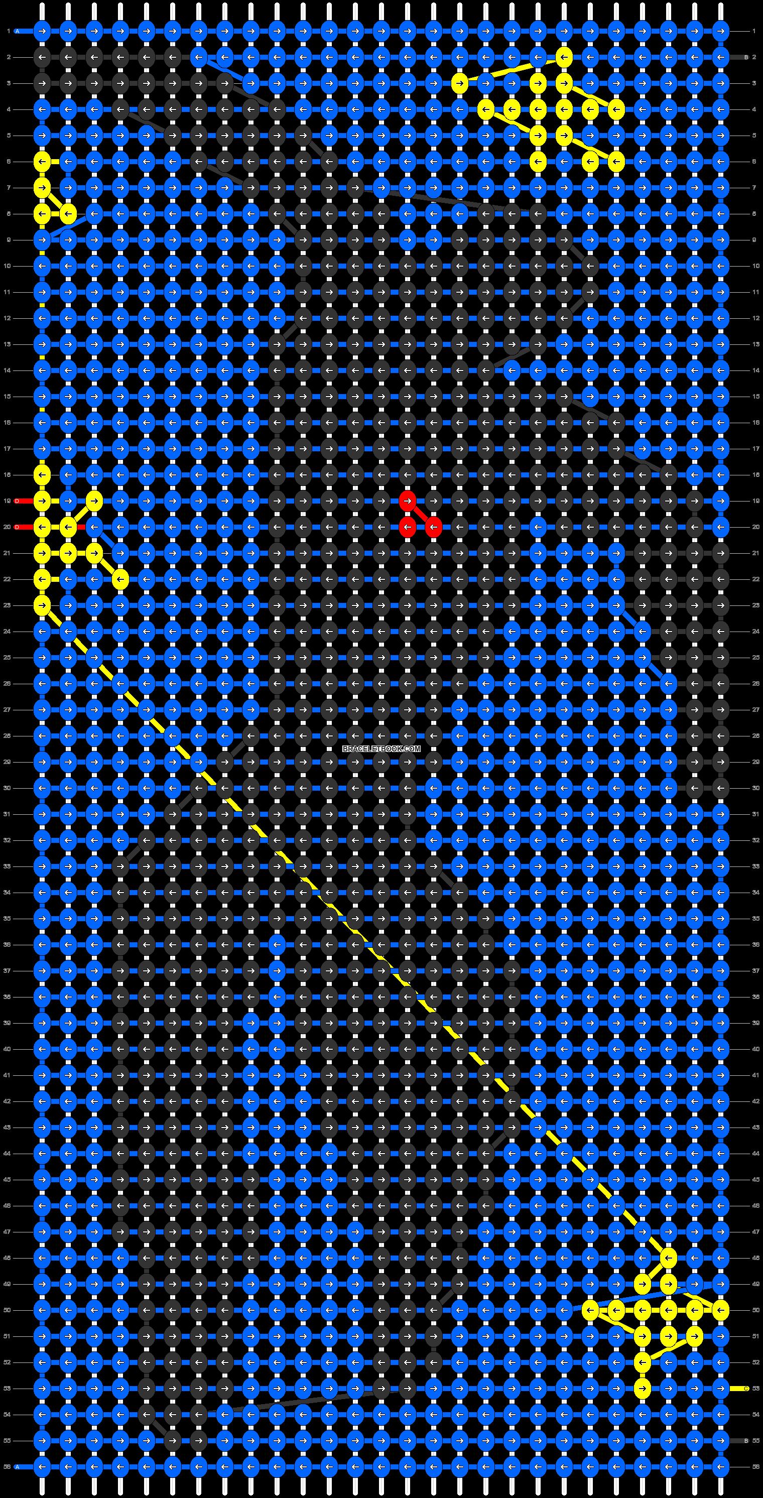 Alpha pattern #13784 pattern