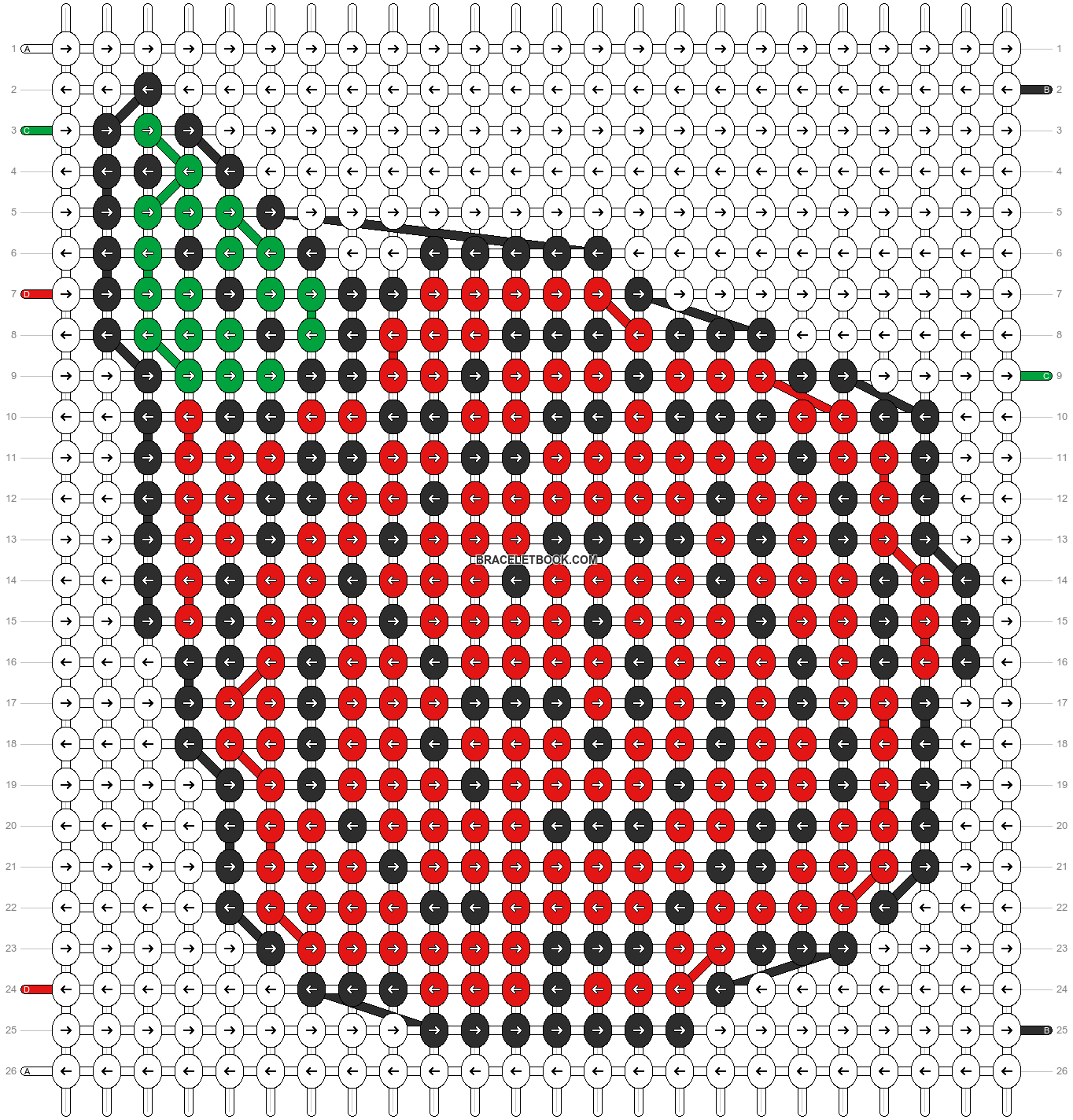 Alpha pattern #13786 pattern