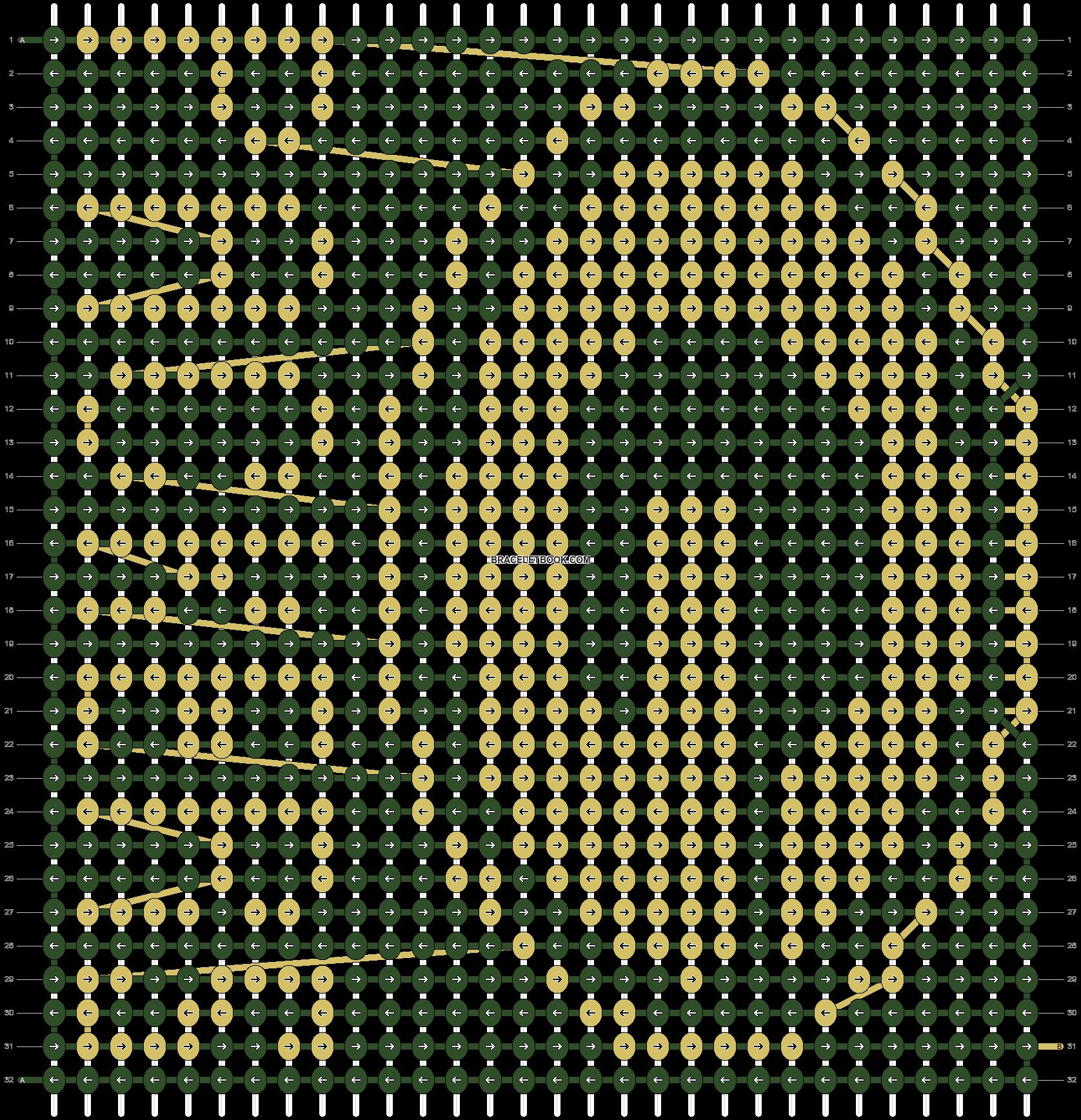 Alpha pattern #13787 pattern