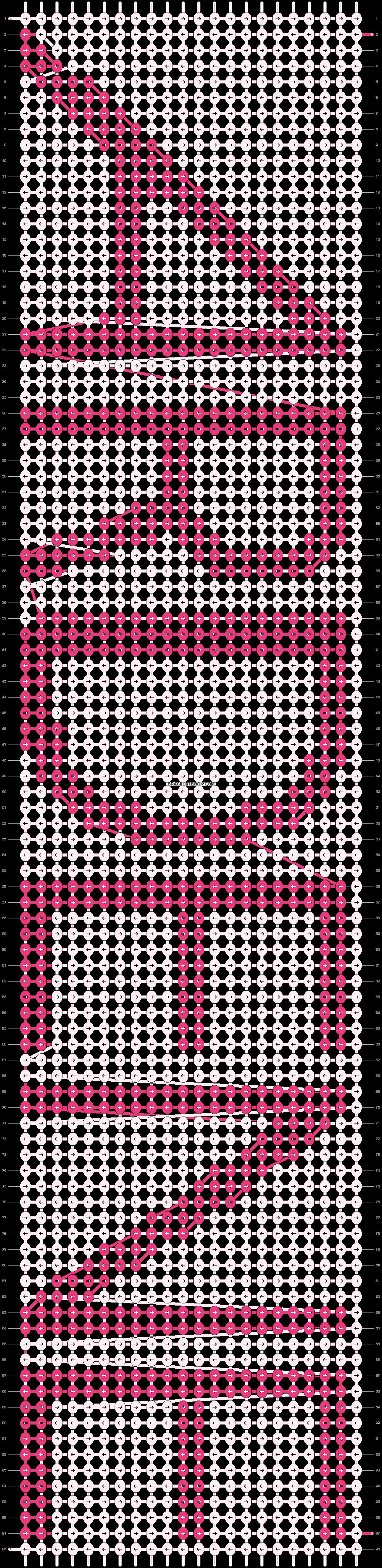 Alpha pattern #13789 pattern
