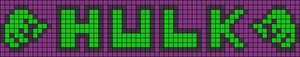 Alpha Friendship Bracelet Pattern #13791