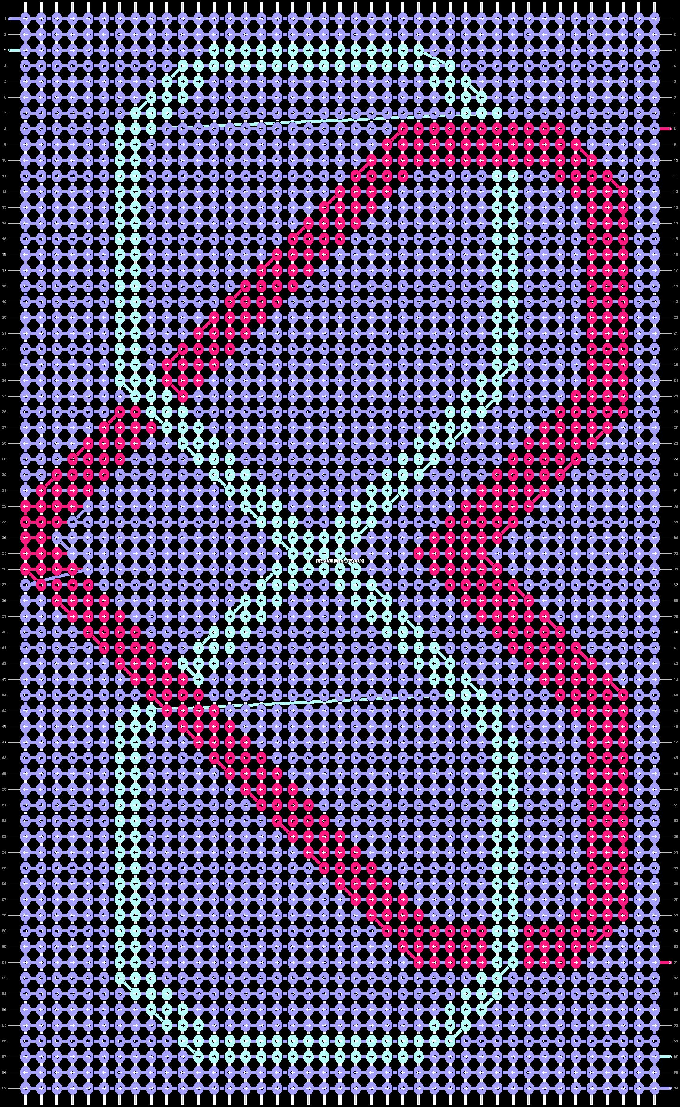 Alpha pattern #13792 pattern
