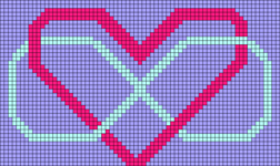Alpha Friendship Bracelet Pattern #13792