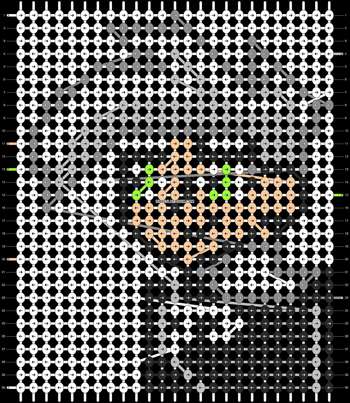 Alpha pattern #13795 pattern