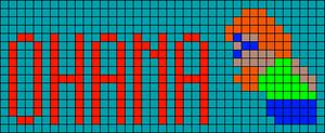 Alpha pattern #13799