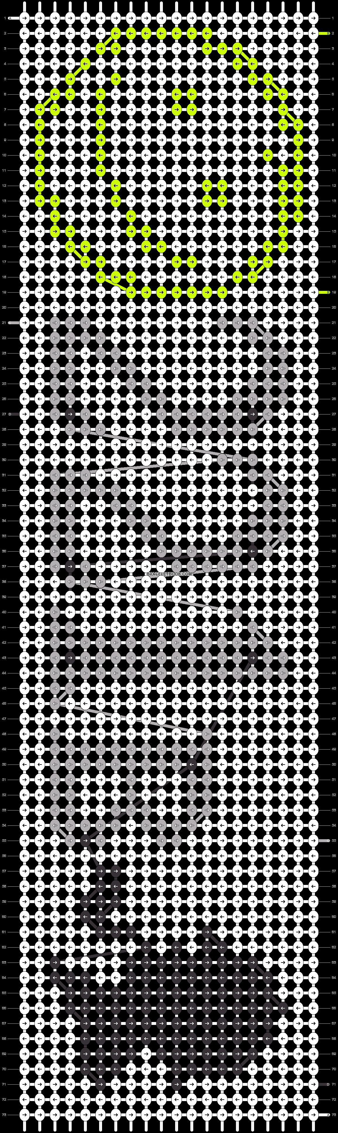 Alpha pattern #13801 pattern