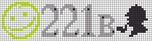 Alpha pattern #13801