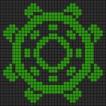 Alpha pattern #13803