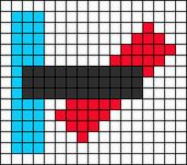 Alpha Friendship Bracelet Pattern #13813