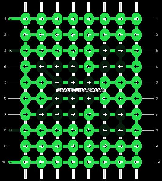 Alpha pattern #13815 pattern