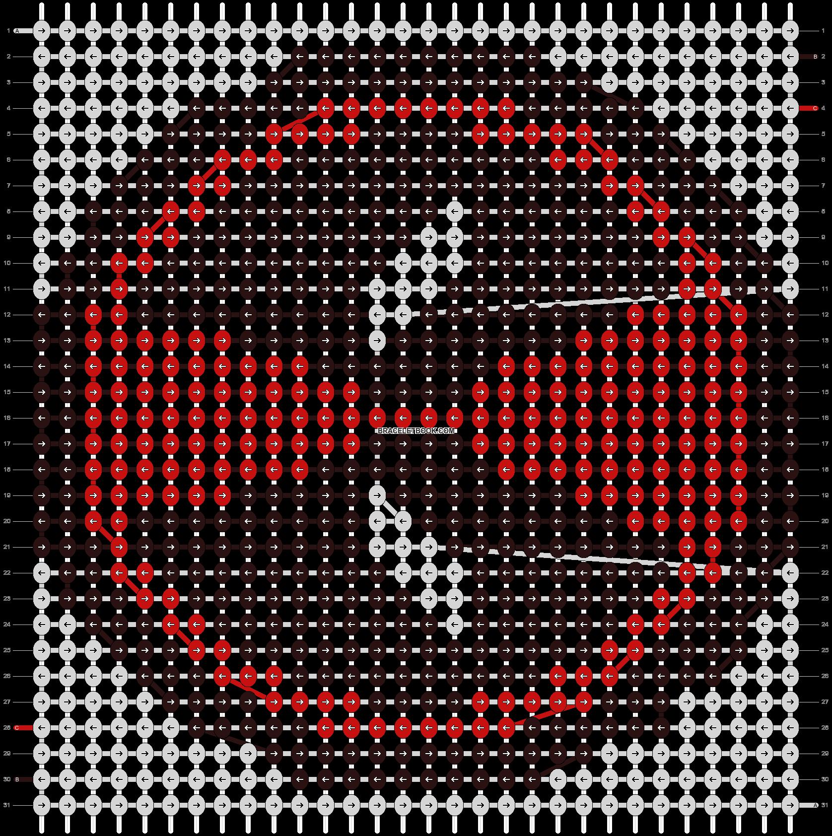 Alpha pattern #13816 pattern