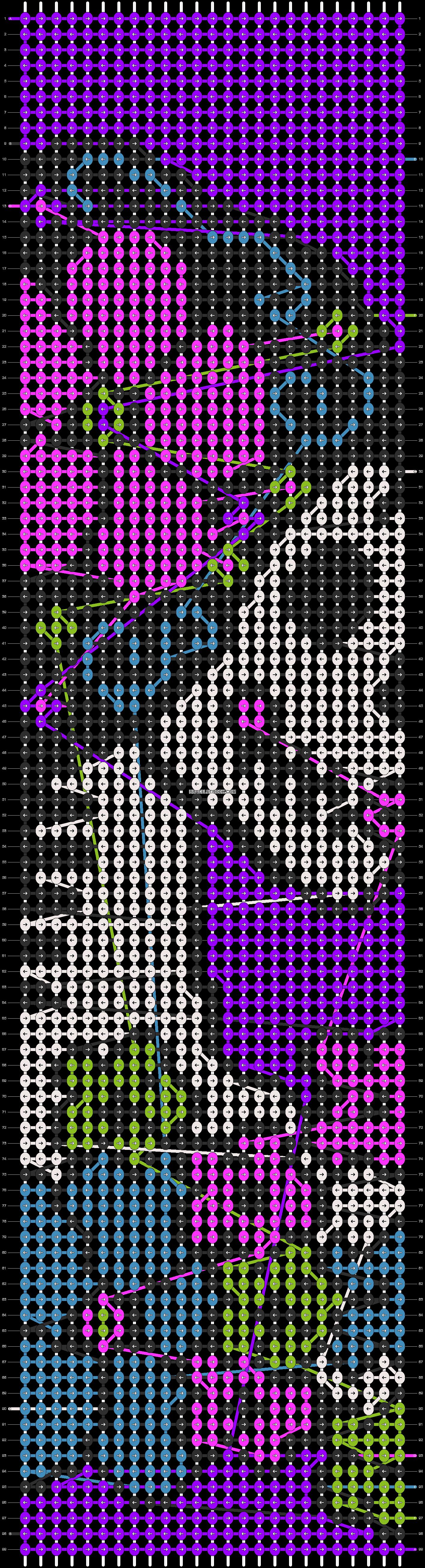 Alpha pattern #13819 pattern