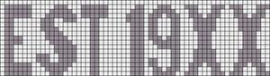 Alpha pattern #13826