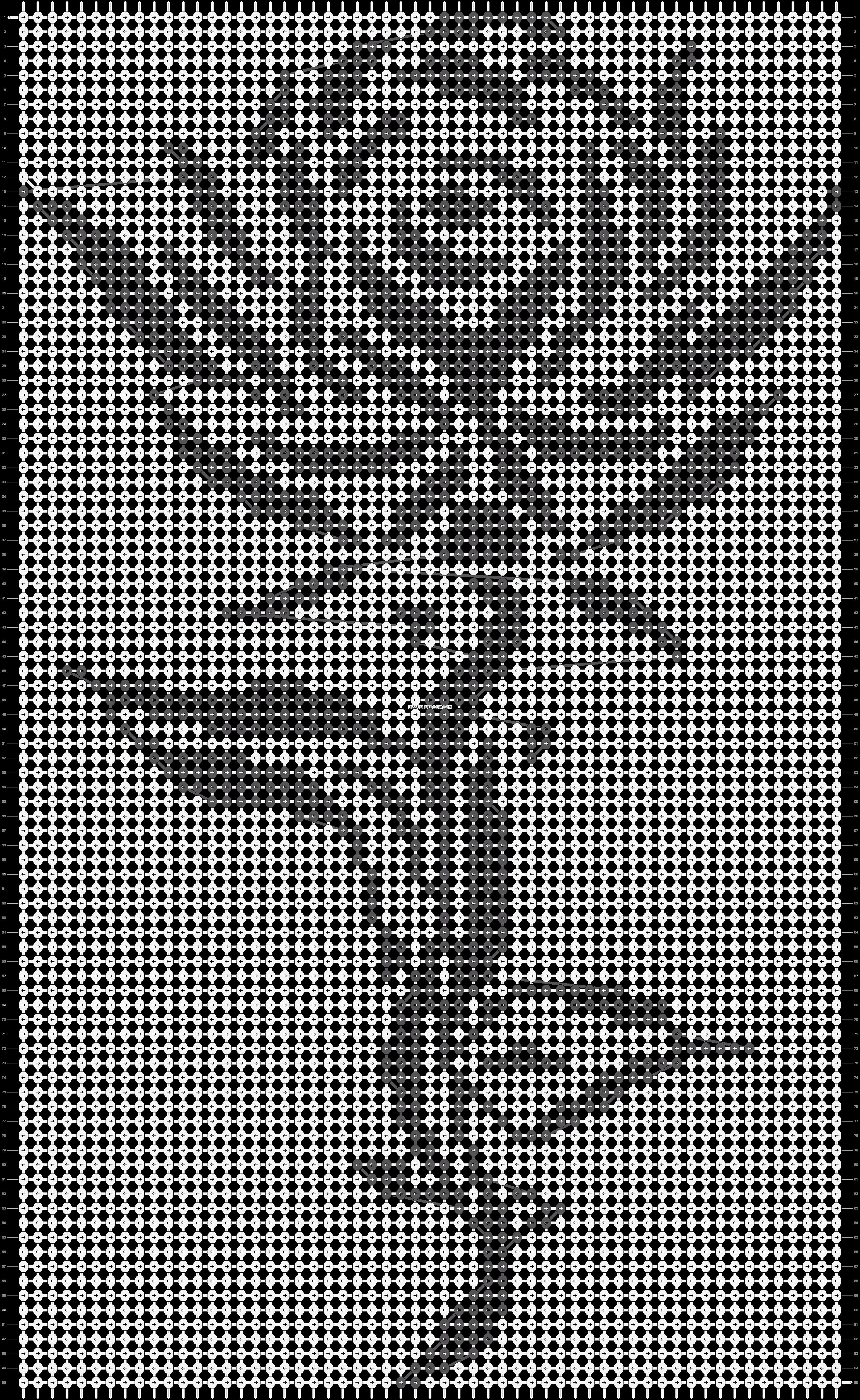 Alpha pattern #13827 pattern
