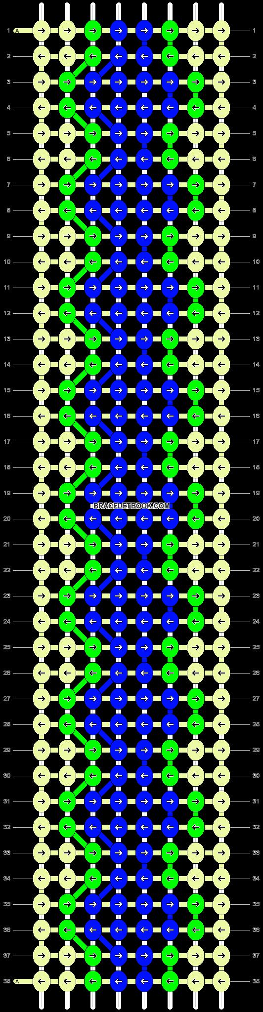 Alpha pattern #13831 pattern