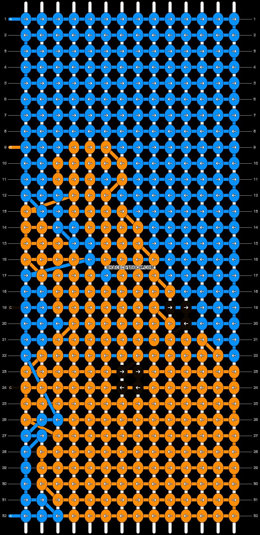 Alpha pattern #13832 pattern