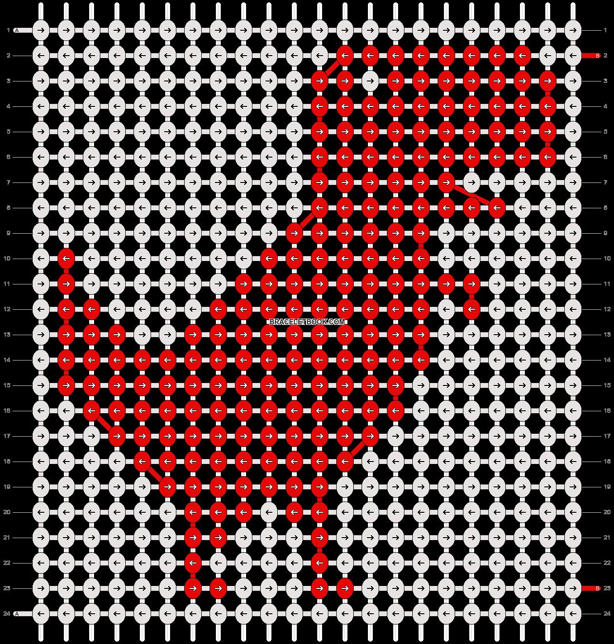 Alpha pattern #13838 pattern