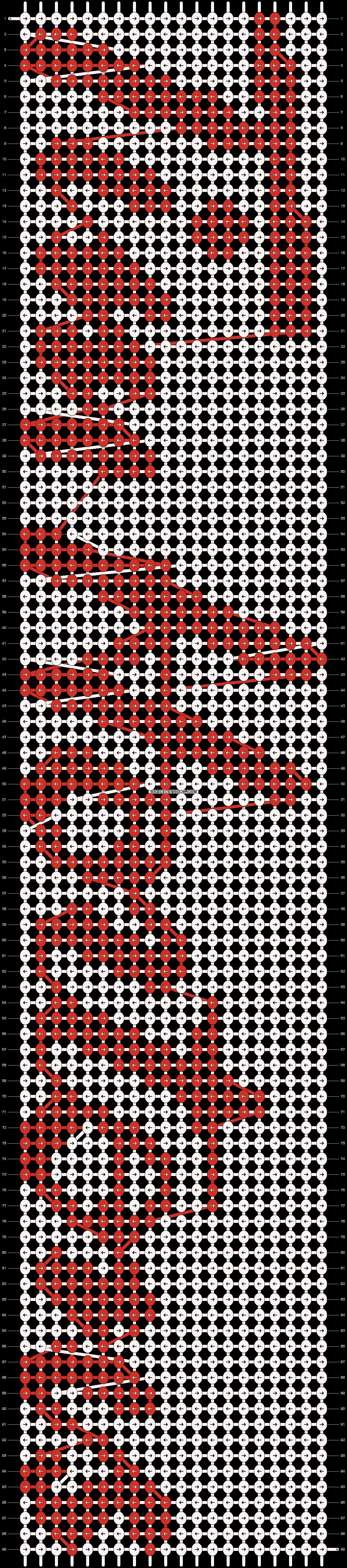 Alpha pattern #13839 pattern