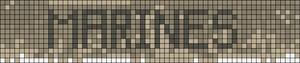 Alpha Friendship Bracelet Pattern #13840