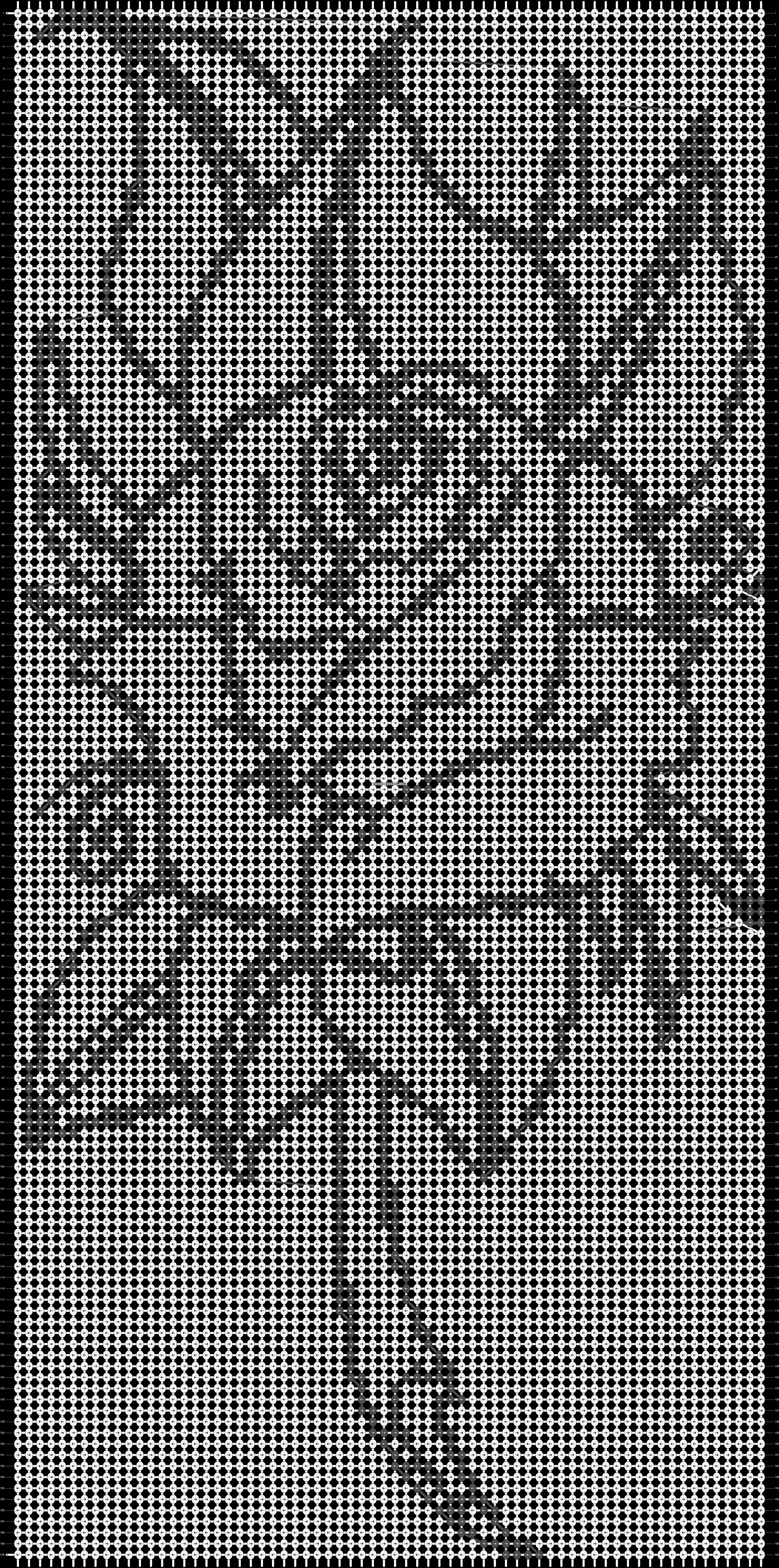Alpha pattern #13846 pattern