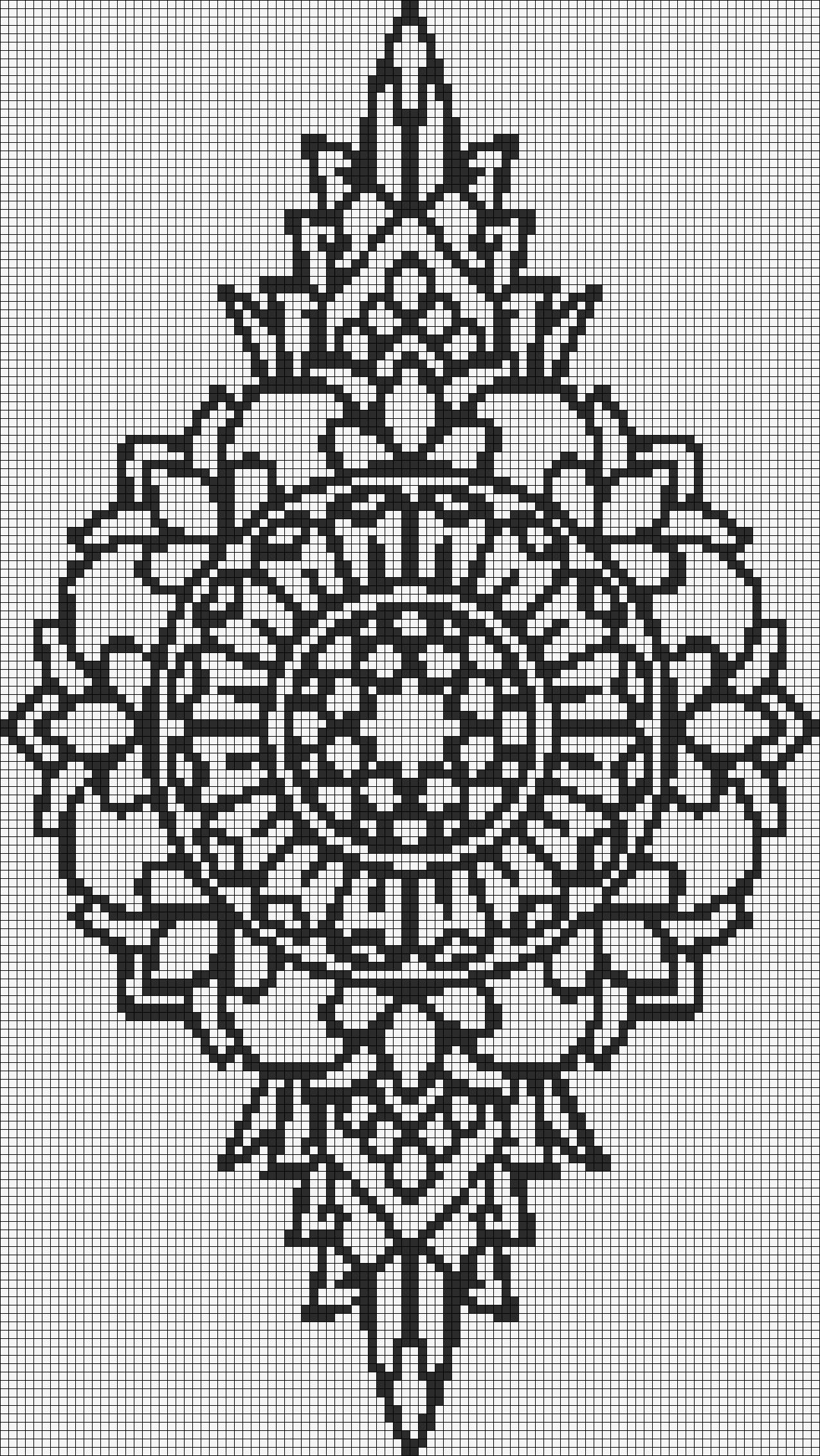 Alpha pattern #13851 preview