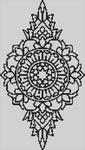 Alpha pattern #13851