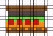 Alpha pattern #13855
