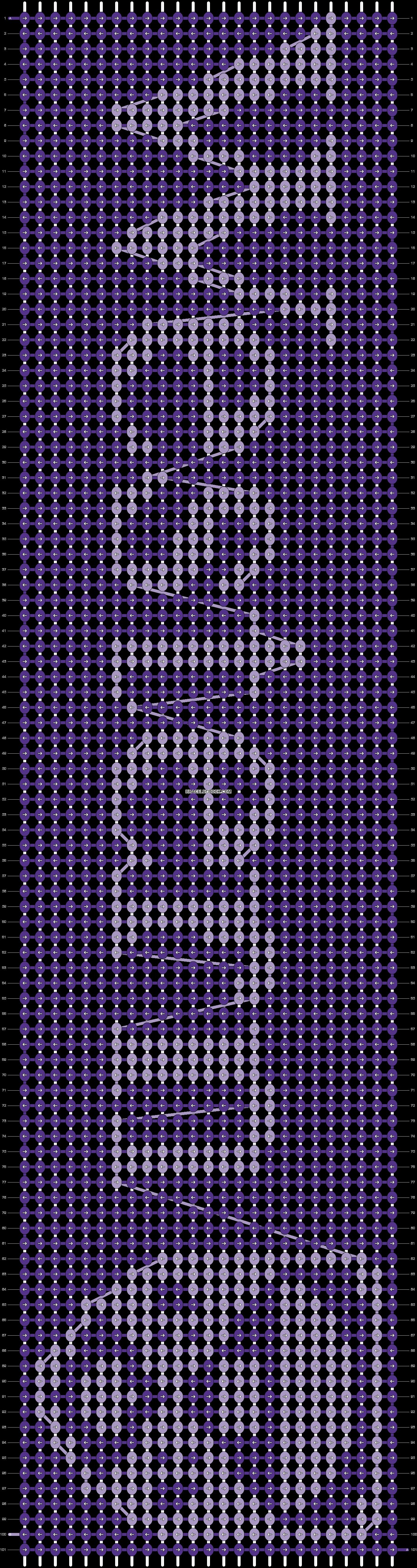 Alpha pattern #13856 pattern