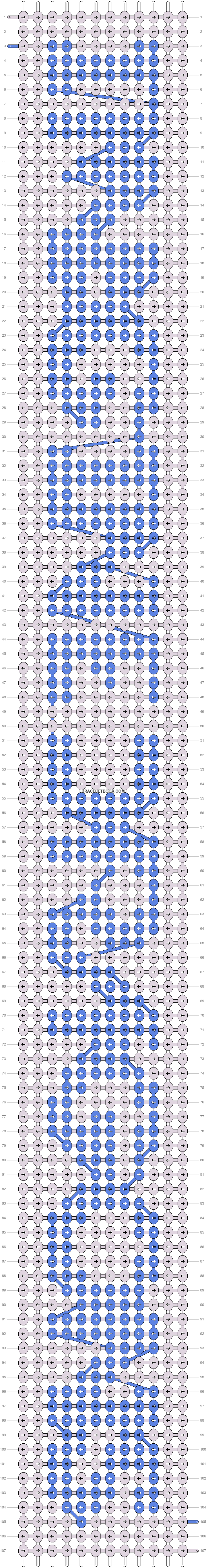 Alpha pattern #13860 pattern
