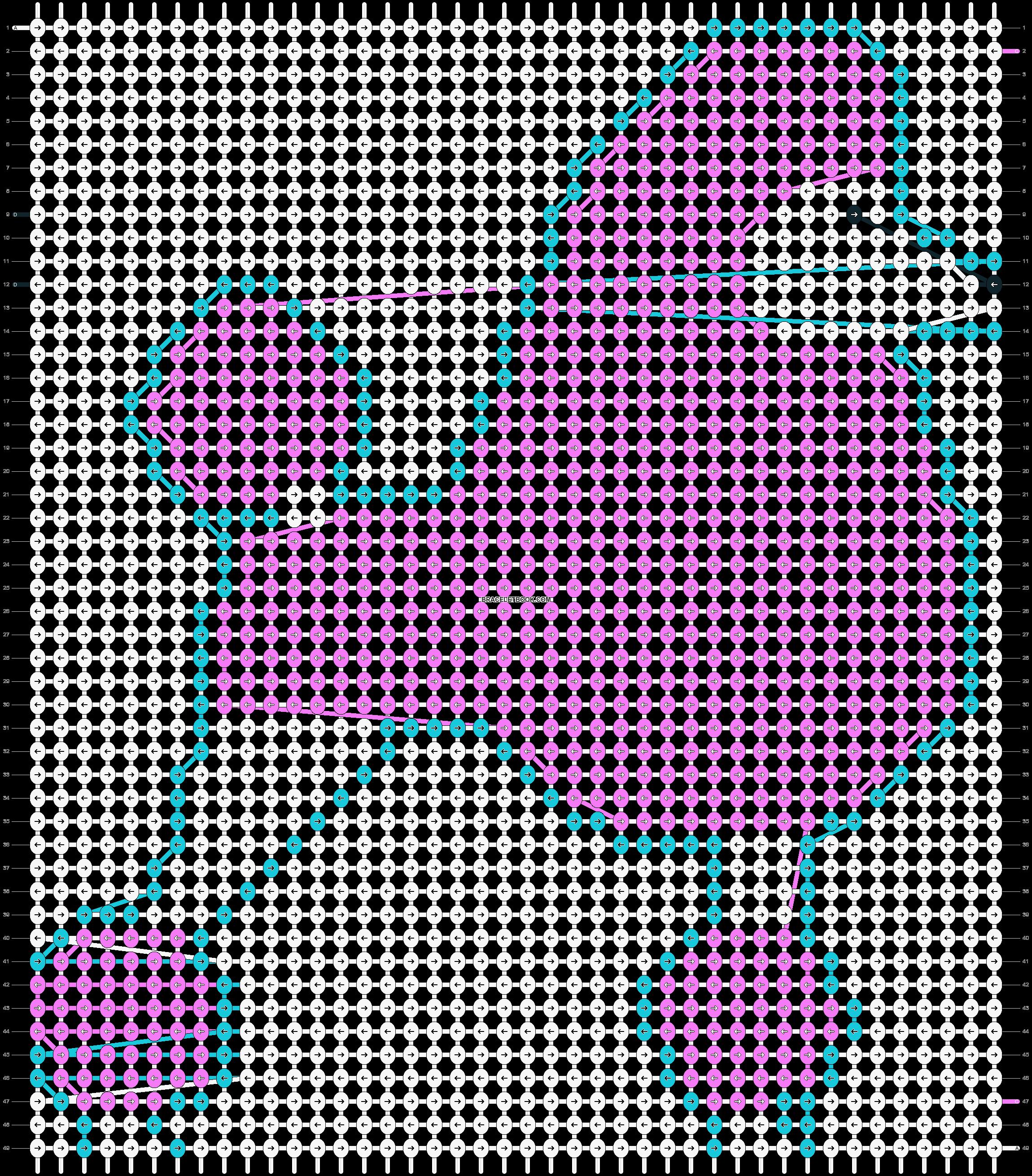 Alpha pattern #13862 pattern