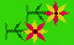 Alpha Friendship Bracelet Pattern #13864