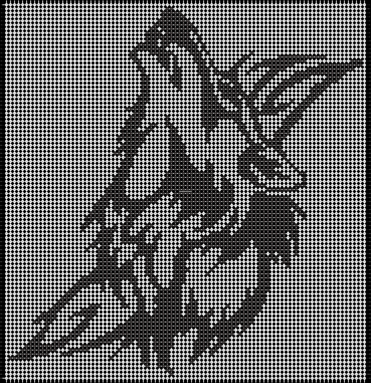 Alpha pattern #13871 pattern