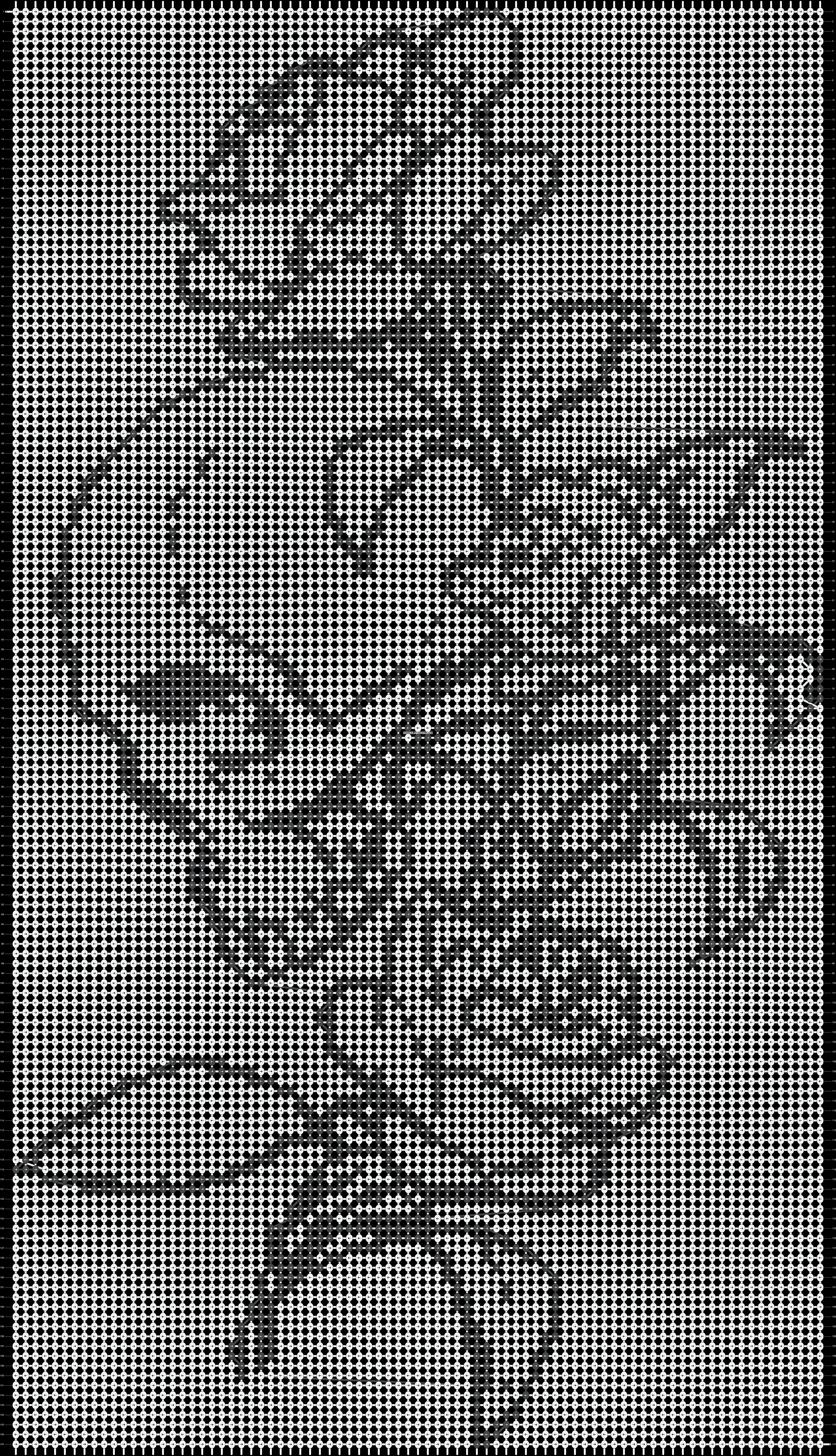 Alpha pattern #13874 pattern
