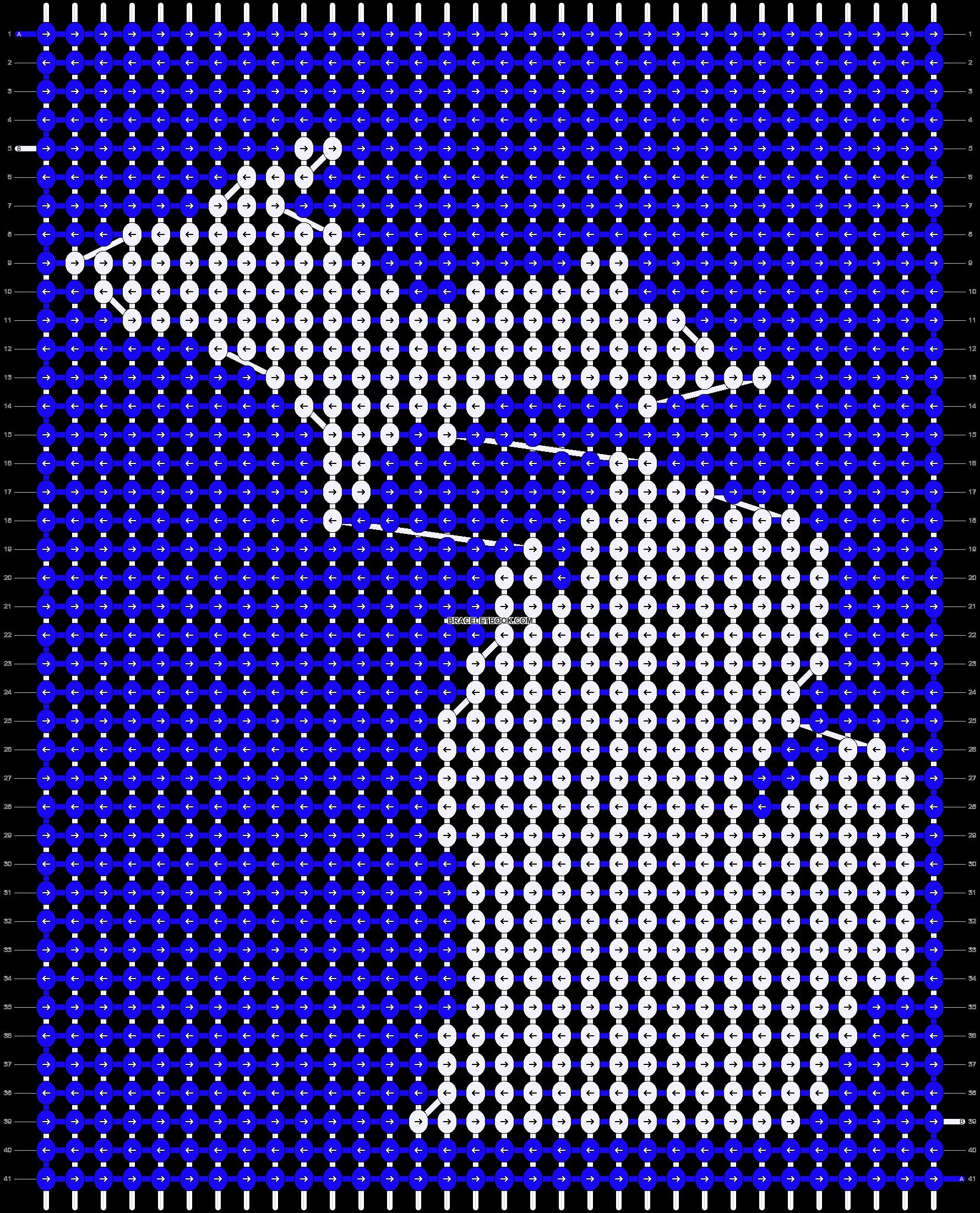 Alpha pattern #13878 pattern
