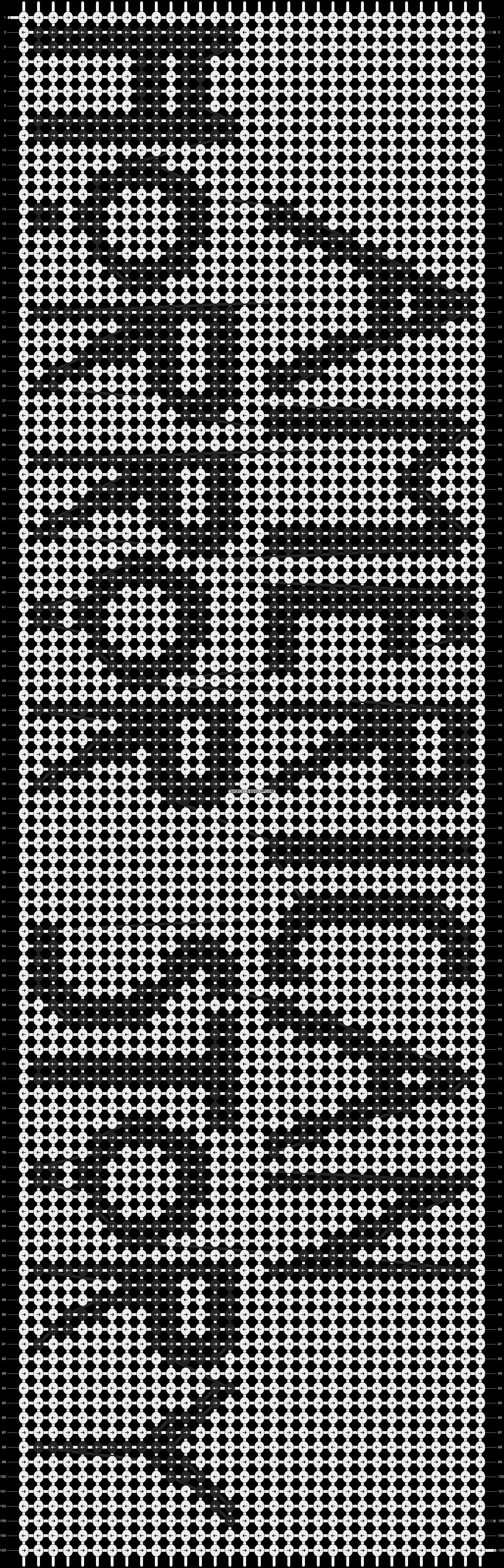 Alpha pattern #13889 pattern