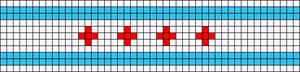 Alpha pattern #13895
