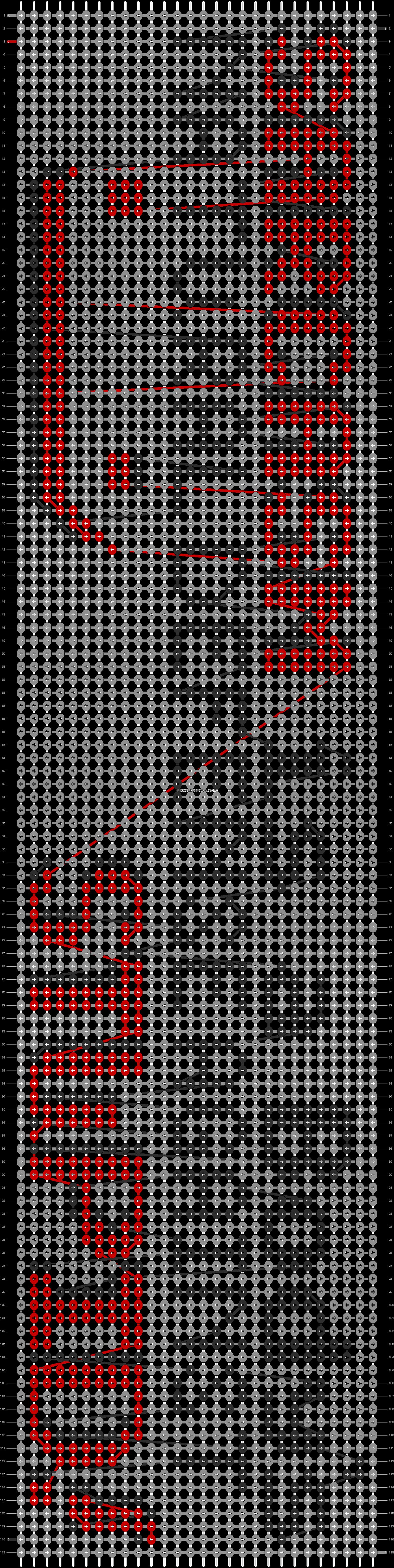 Alpha pattern #13896 pattern